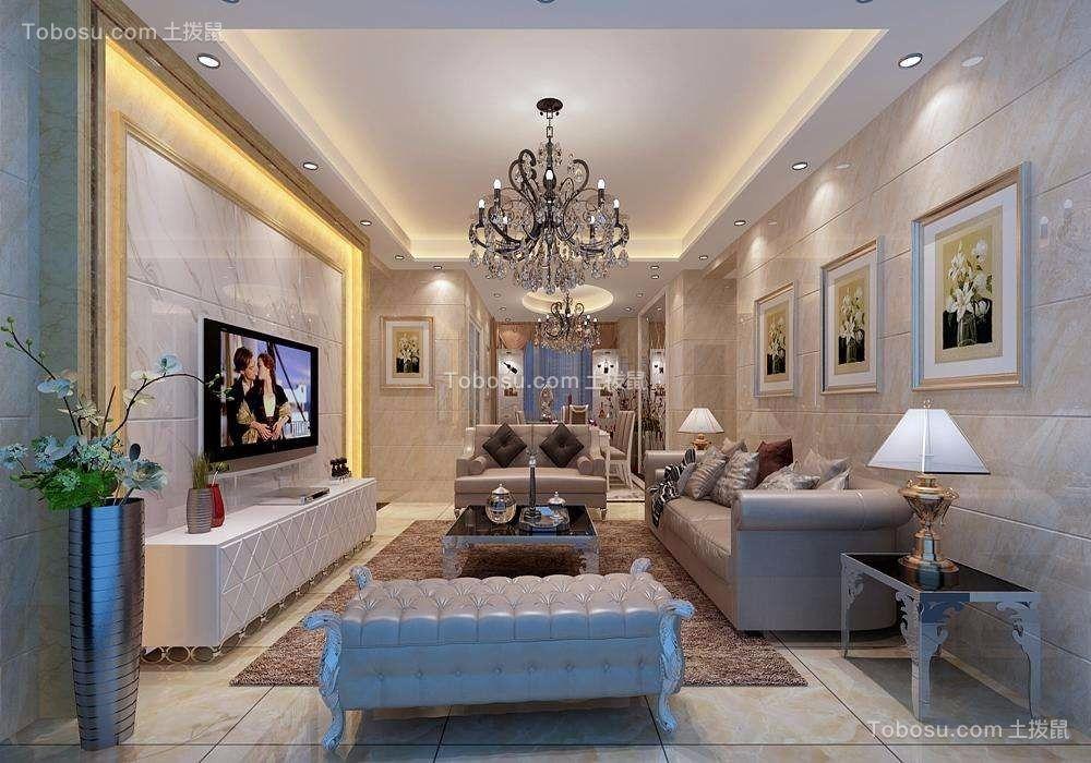 157平歐式風格四居室裝修效果圖