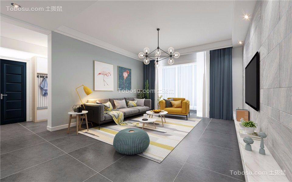 176平混搭风格四居室装修效果图