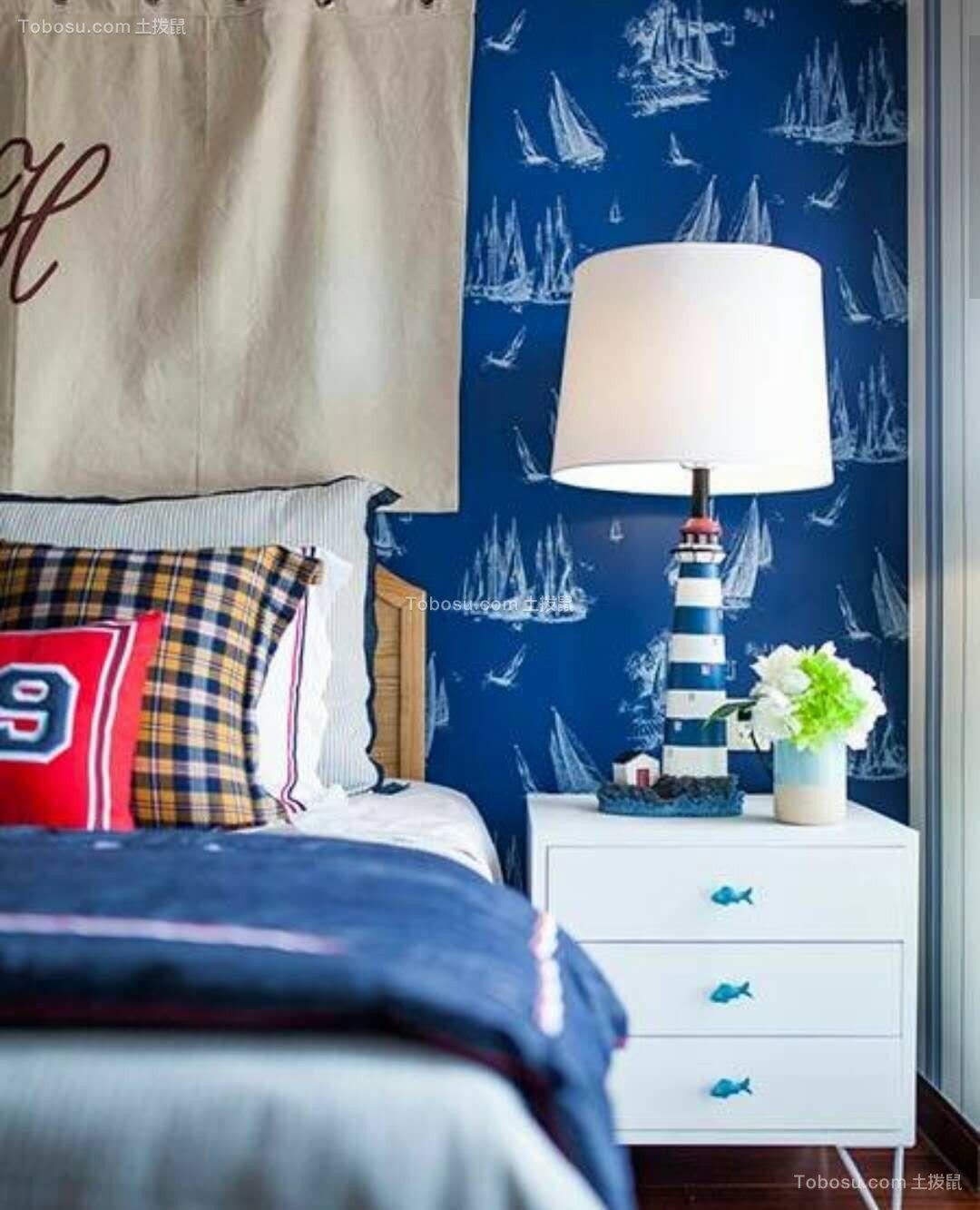 卧室米色灯具简约风格装饰图片