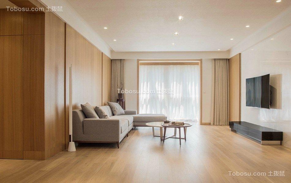 130平简约风格三居室装修效果图