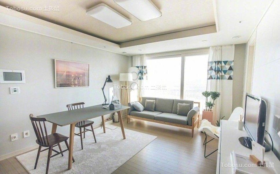 40平北欧风格公寓装修效果图
