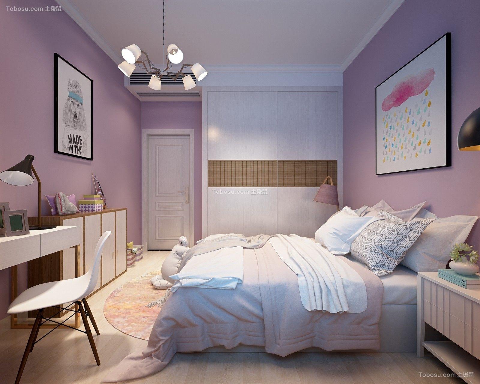 2019北欧儿童房装饰设计 2019北欧衣柜装修设计图片