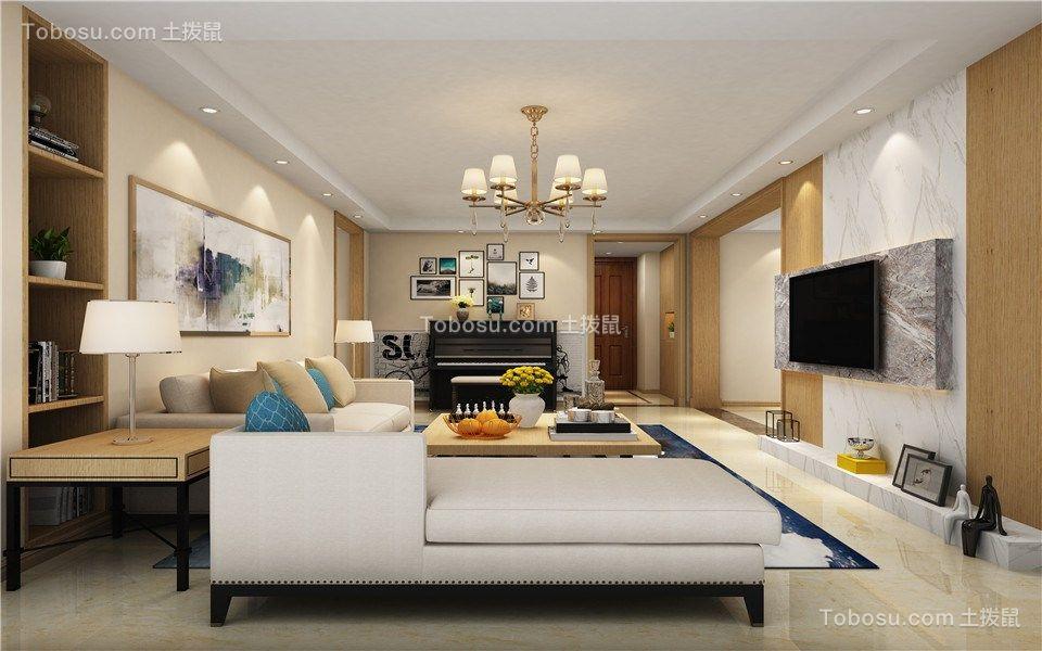 156平简约风格四室两厅装修效果图