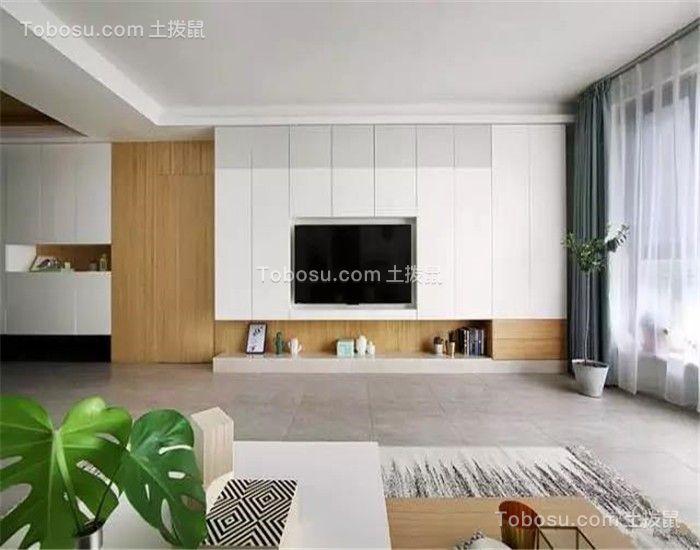 南京鼎泰家园122平米北欧风格效果图