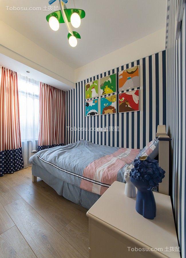 2018简约卧室装修设计图片 2018简约窗帘装修设计图片