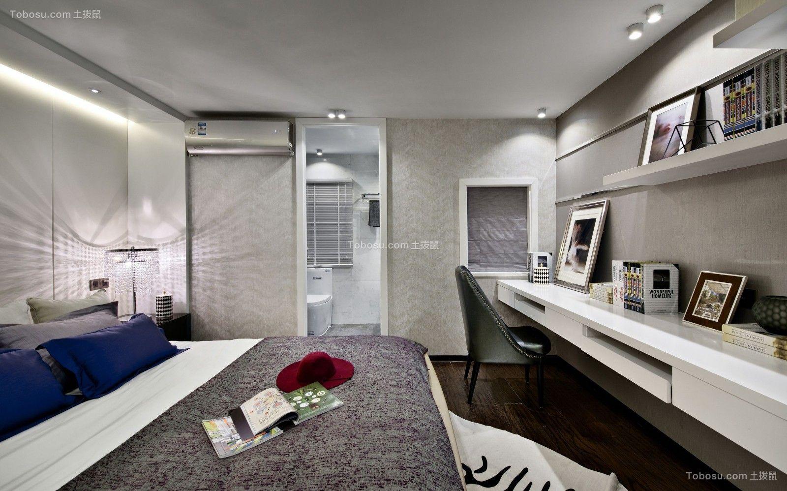 卧室书桌北欧室内装修设计