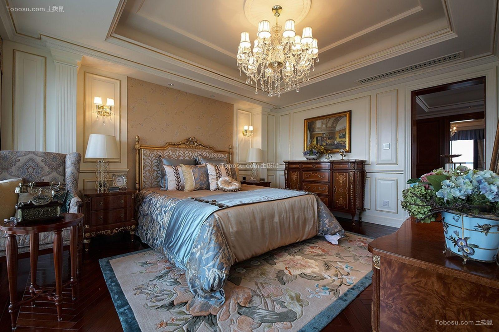 2018欧式卧室装修设计图片 2018欧式背景墙图片