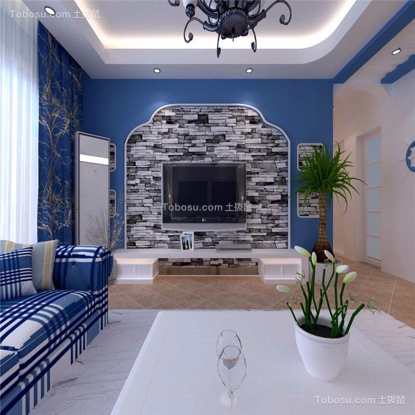格调白色客厅装饰效果图
