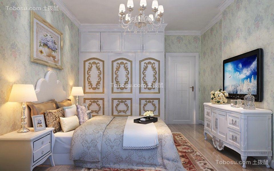 2018欧式卧室装修设计图片 2018欧式衣柜装修设计图片