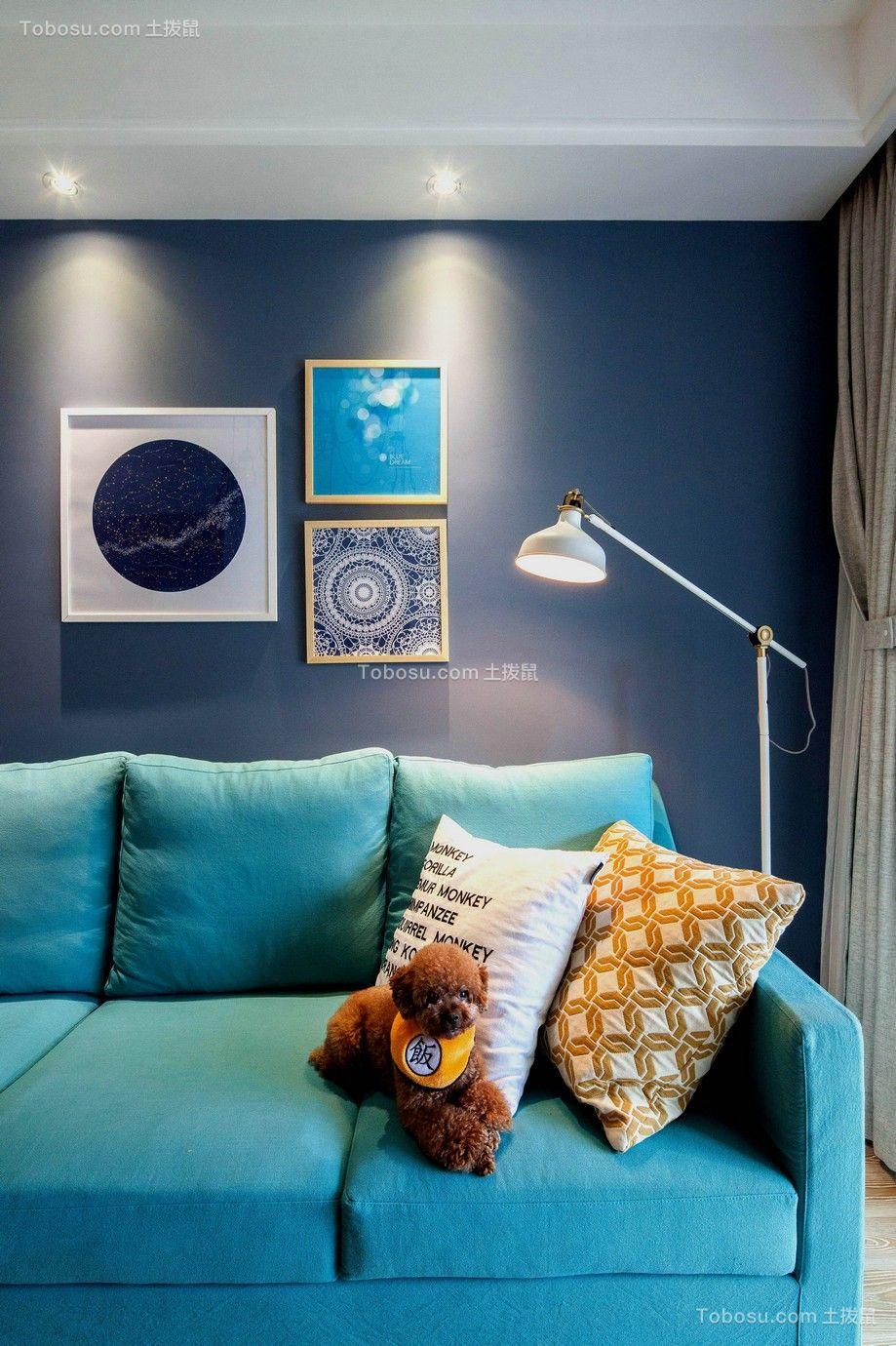 时尚客厅背景墙案例图片