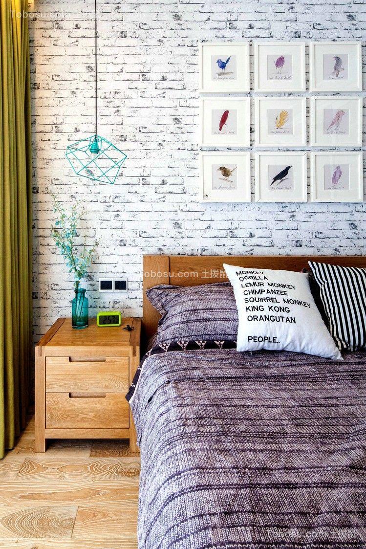 北欧卧室背景墙装饰设计