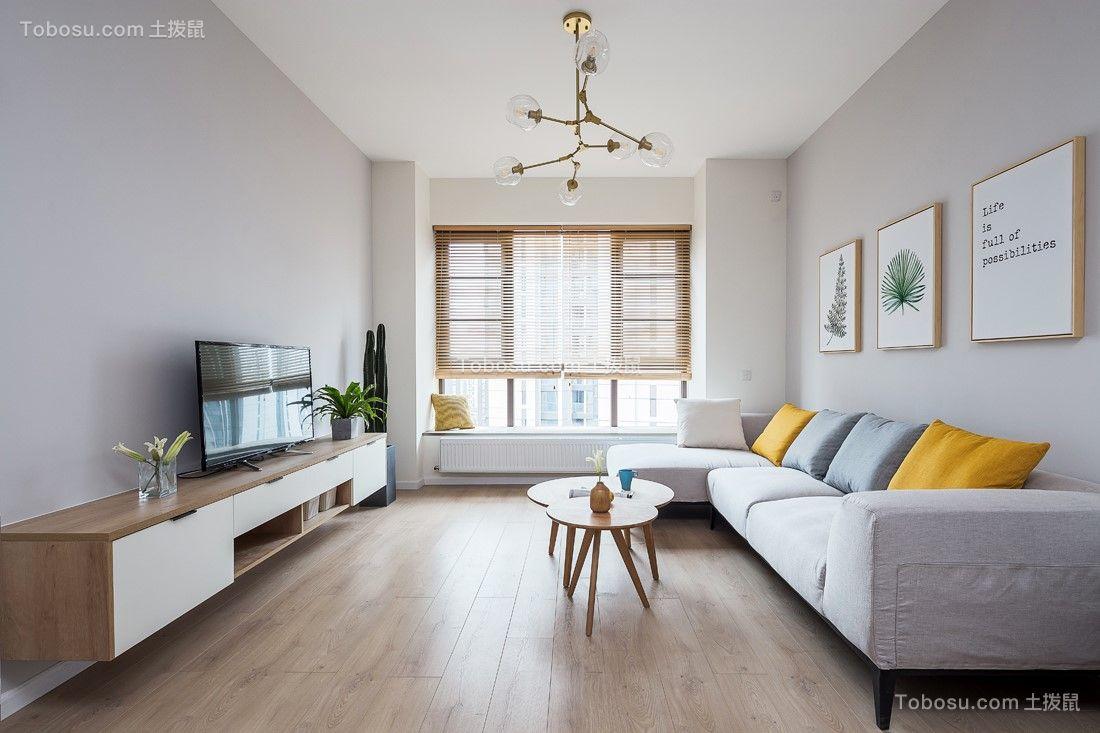 271平简约风格三居室装修效果图