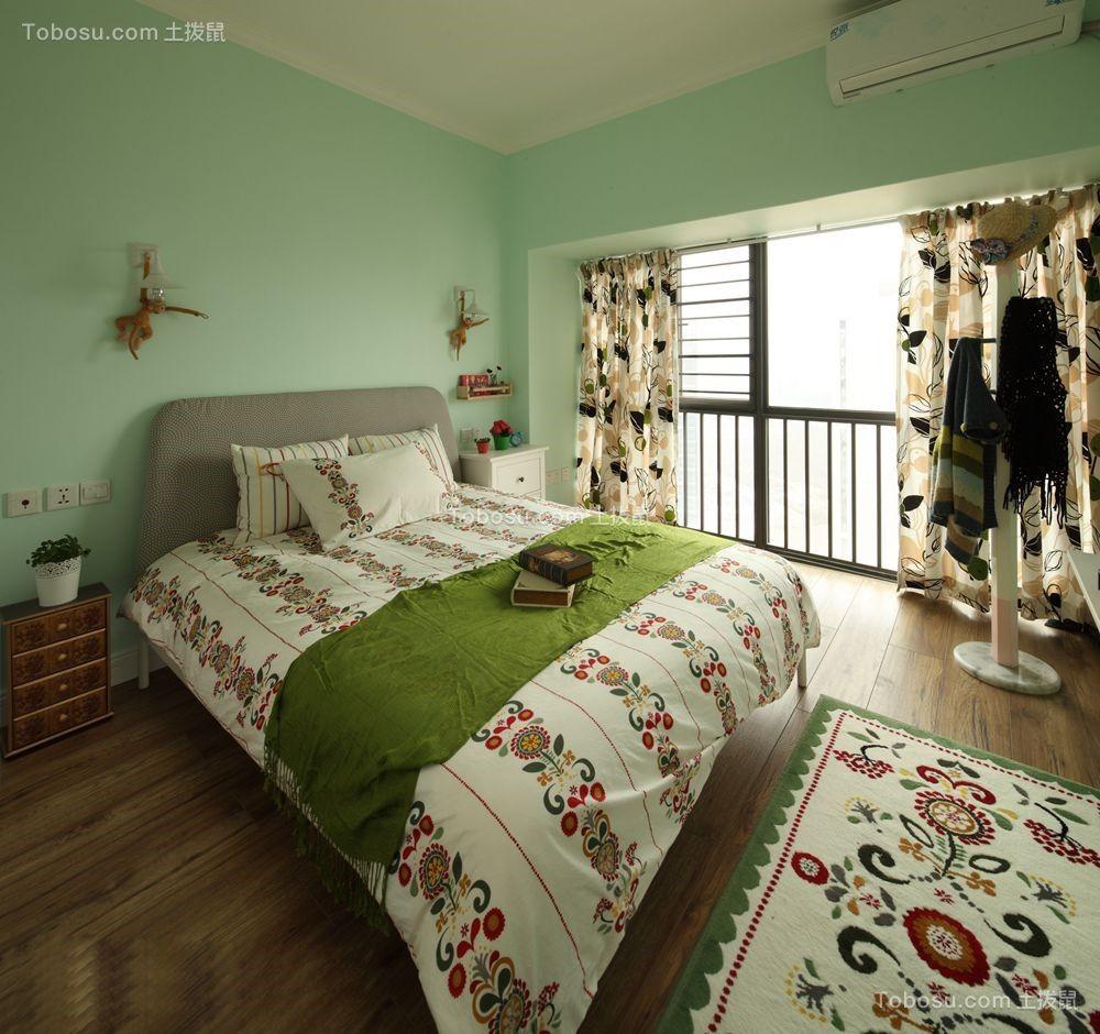 创意绿色背景墙设计图片