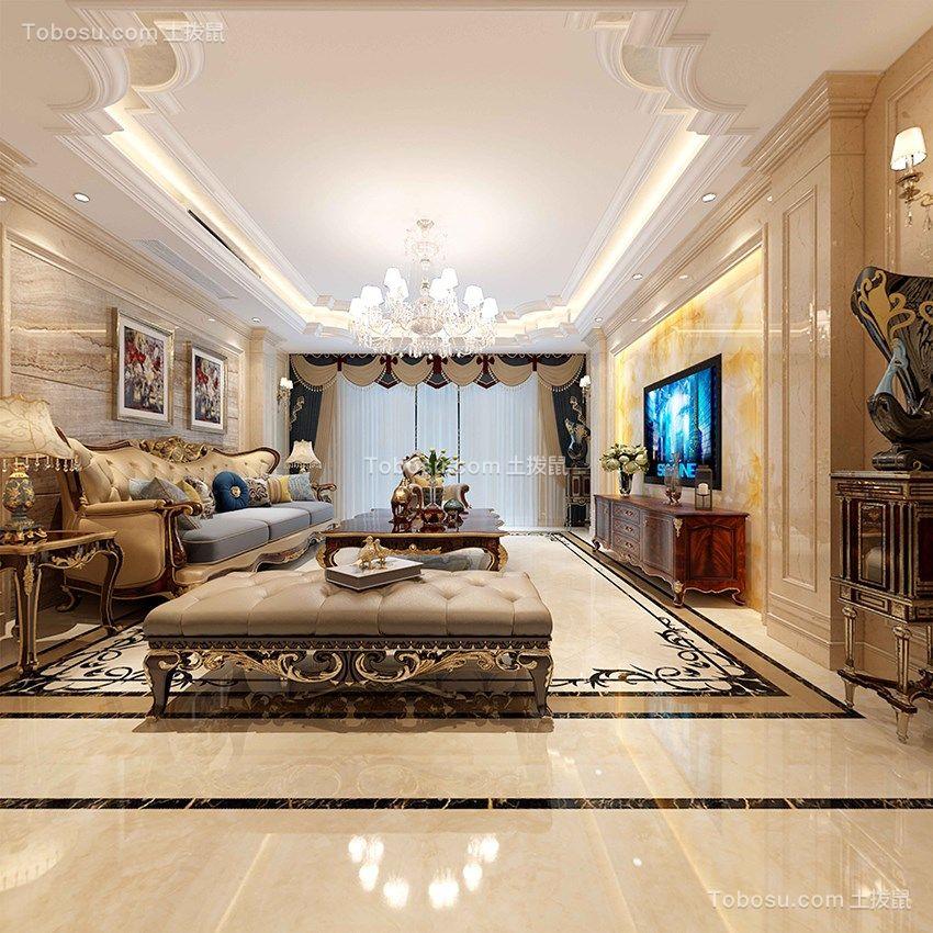 230平欧式风格四室两厅装修效果图
