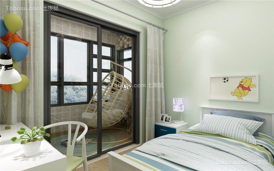 郑州紫荆华庭87平米现代简约风格效果图