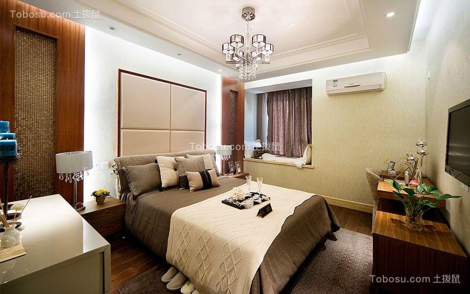 卧室白色吊顶简约风格装修效果图