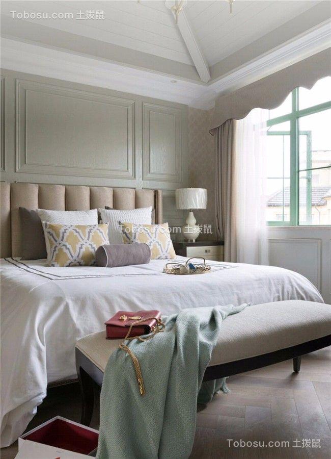 2019现代欧式卧室装修设计图片 2019现代欧式窗帘装修效果图片