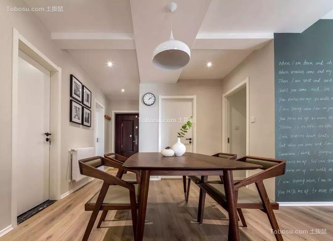 72平简约风格两居室装修效果图