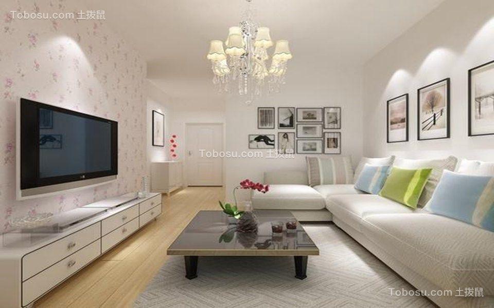 50平现代简约风格一居室装修效果图