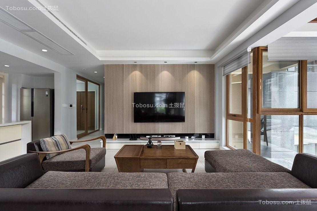 180平现代风格四居室装修效果图