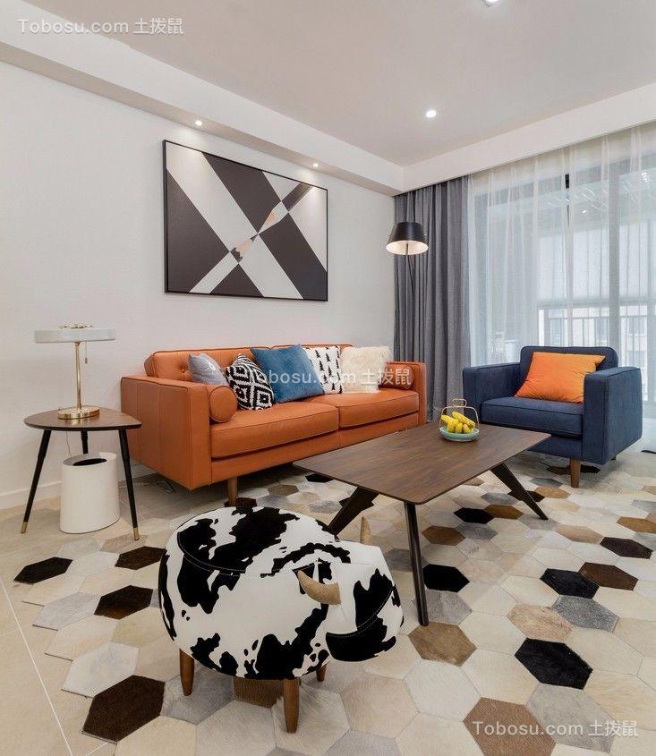 温暖客厅家装设计