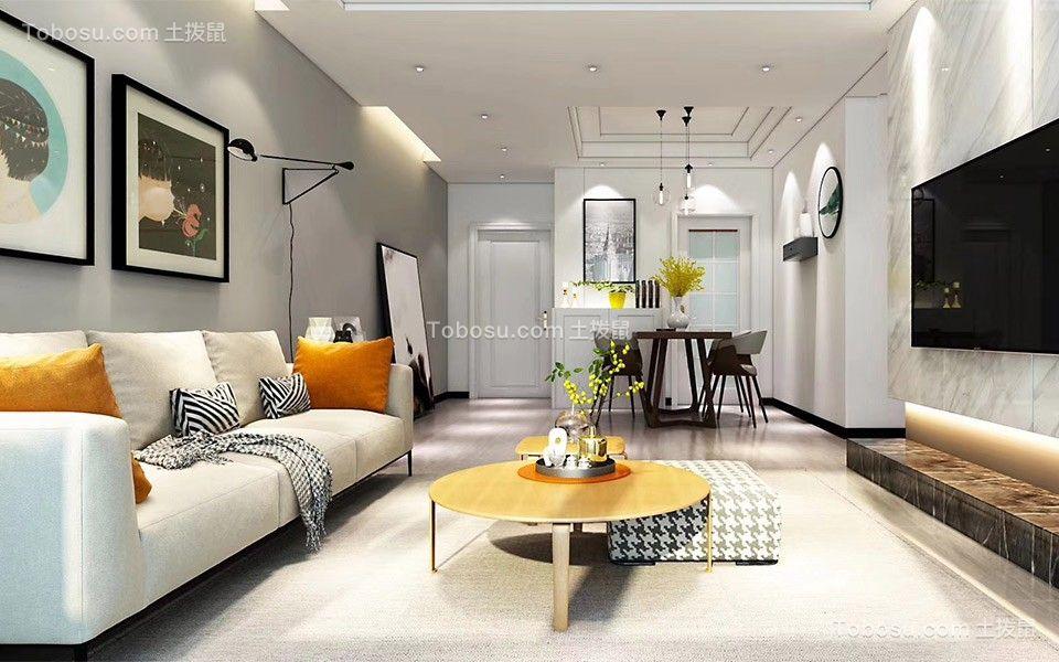 精美绝伦客厅现代简约装饰图