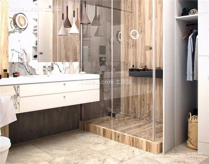 2020欧式卫生间装修图片 2020欧式洗漱台装饰设计