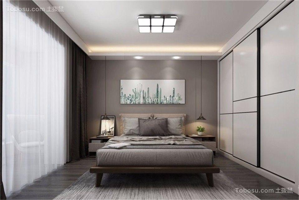 【山语城104平】现代简约时尚三居,灰色与棕色调的优雅