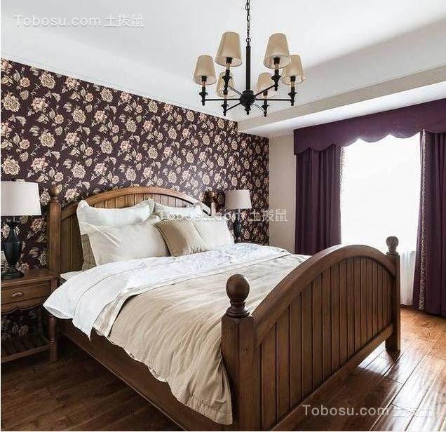 卧室黄色床混搭风格效果图
