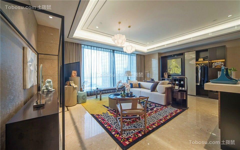 187平新中式风格四室两厅装修效果图
