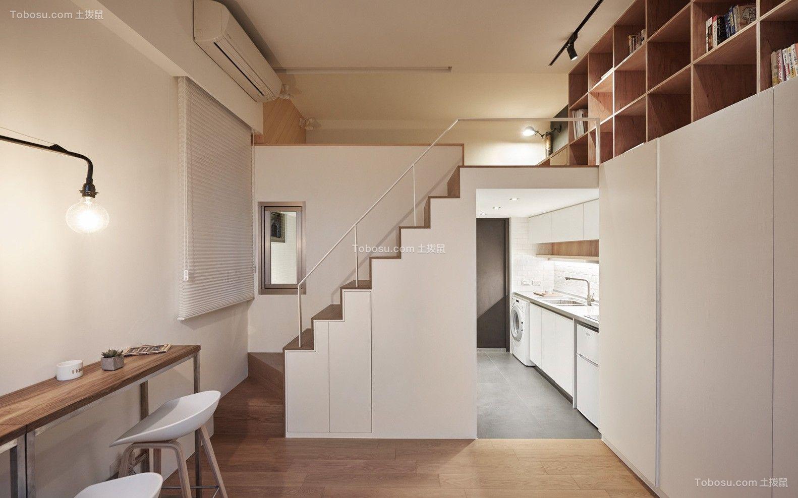 清新复式单房小公寓