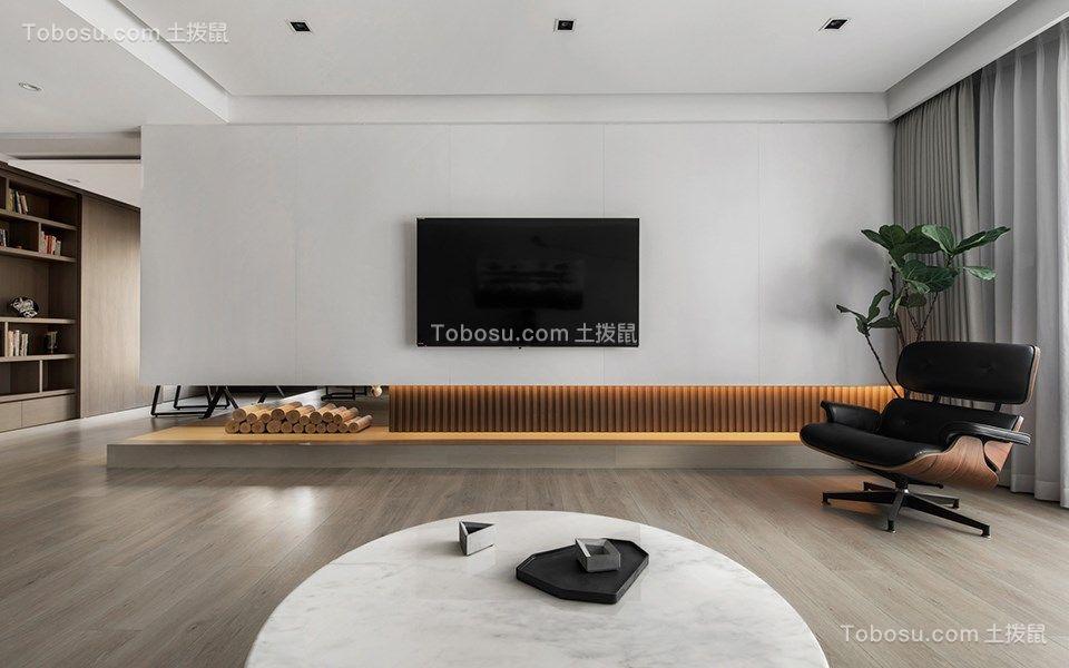 88平现代风格两居室装修效果图