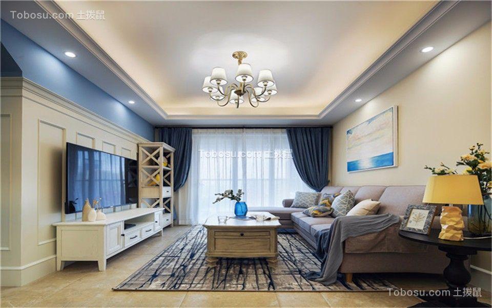 79平现代简约风格两居室装修效果图