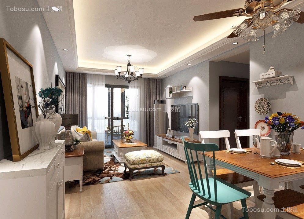 113平现代简约风格三居室装修效果图