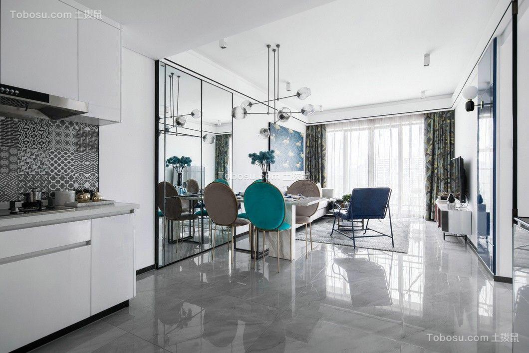 125平现代简约风格套房装修效果图