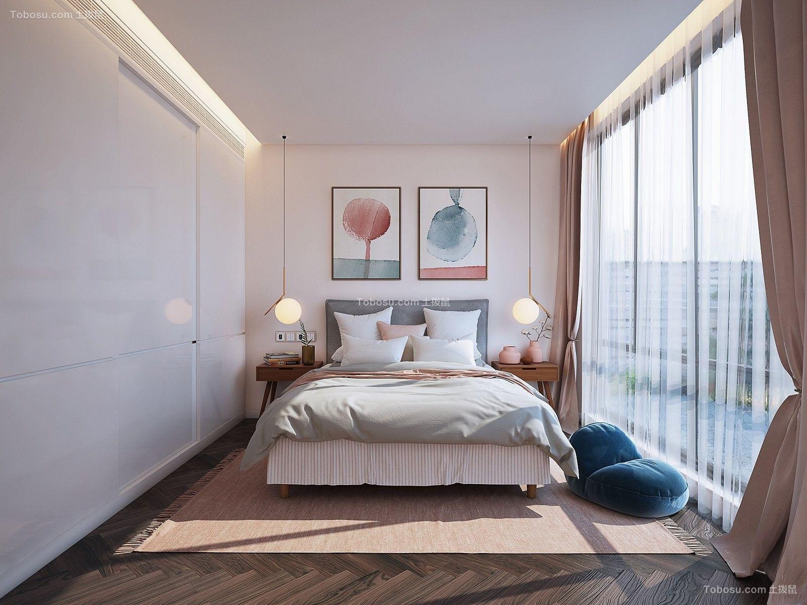 2018现代简约卧室装修设计图片 2018现代简约吊顶设计图片