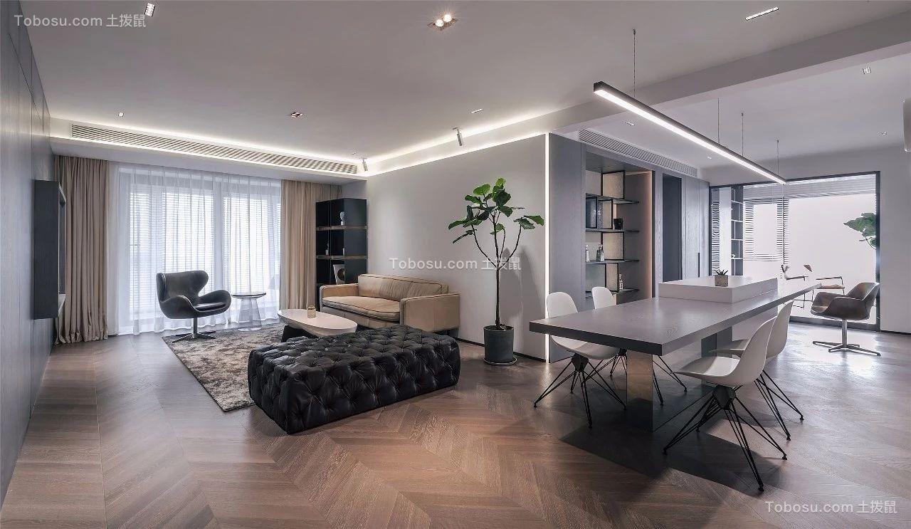 112平简单风格两居室装修效果图