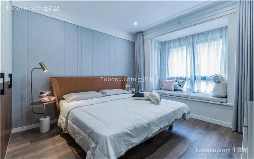 2018现代简约卧室装修设计图片 2018现代简约背景墙图片