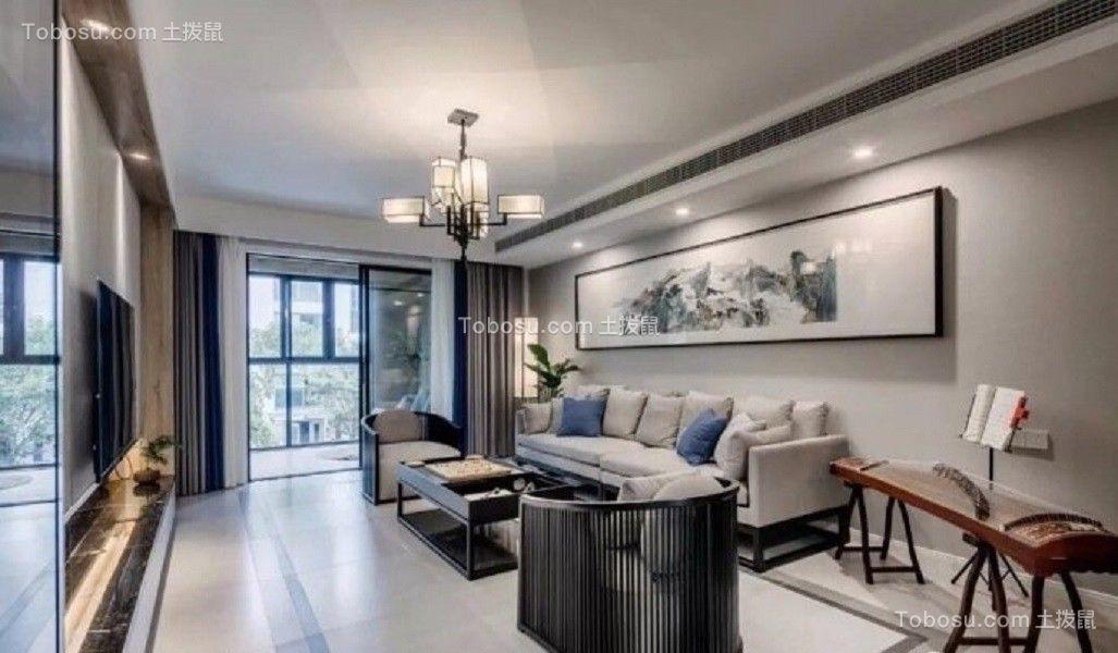 2018新中式客厅装修设计 2018新中式沙发装修设计