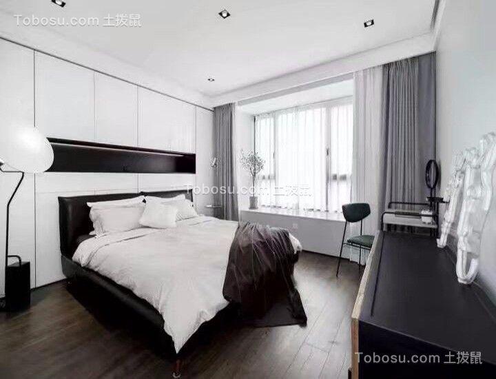 114平后现代风格三居室装修效果图