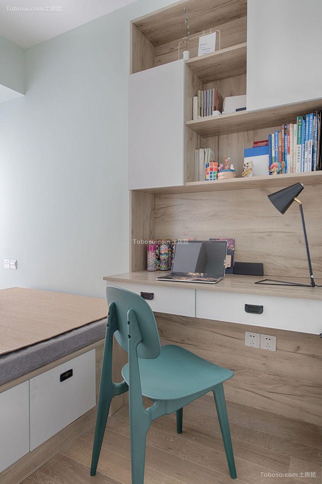 重庆煌华晶萃城78平三室北欧风格装修实景案例|俏业家装饰