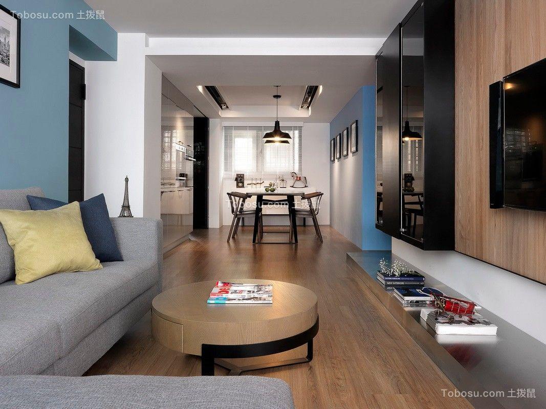 2019混搭客厅装修设计 2019混搭地板效果图