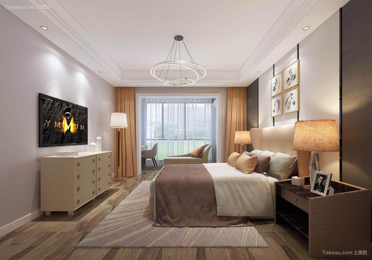 2019现代简约卧室装修设计图片 2019现代简约地板装修图片
