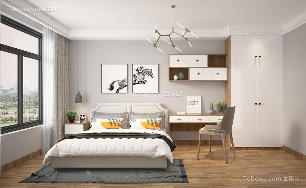 2019北欧卧室装修设计图片 2019北欧地板装修图片