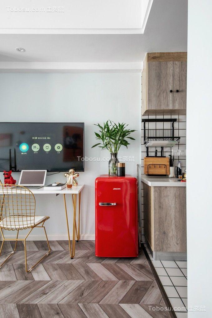 40平单身公寓小户型装修效果图