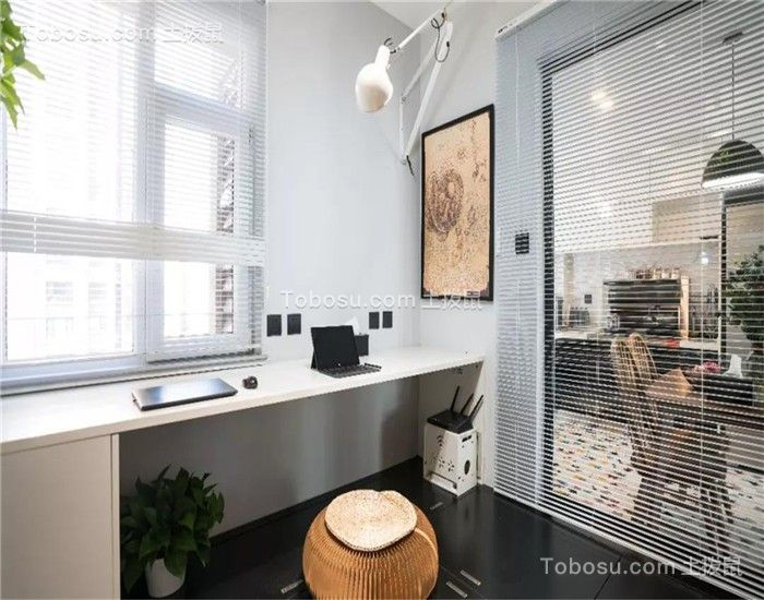 92平混搭两居室装修效果图