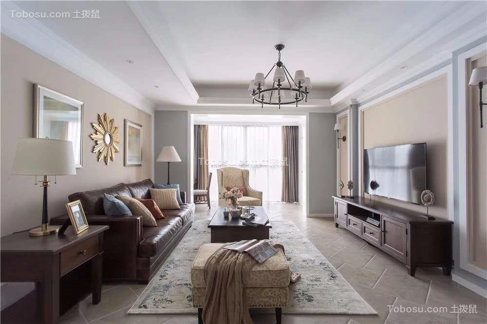 120平米浪漫美式,家应该是温馨舒适的