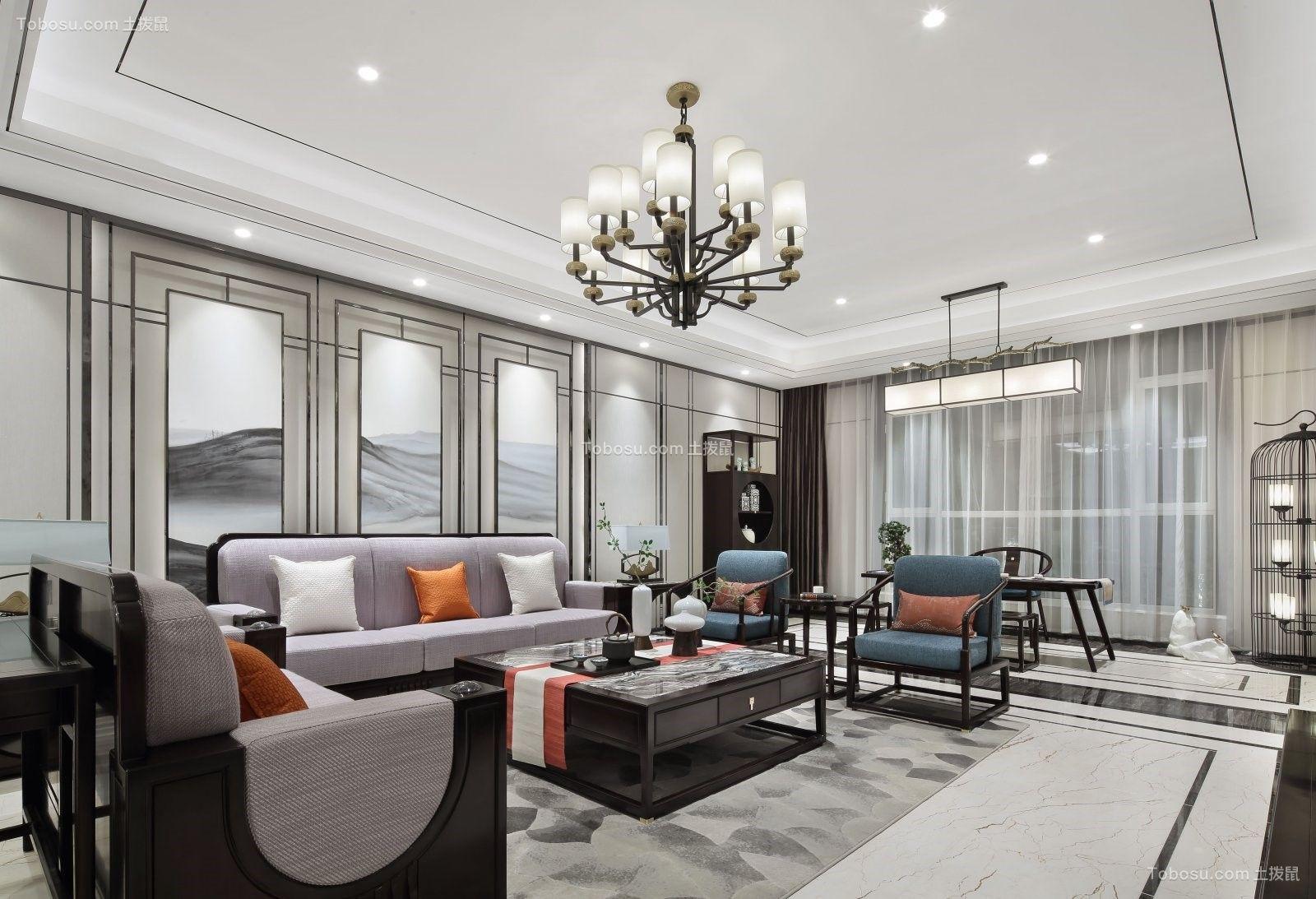2019中式古典客厅装修设计 2019中式古典沙发装修设计