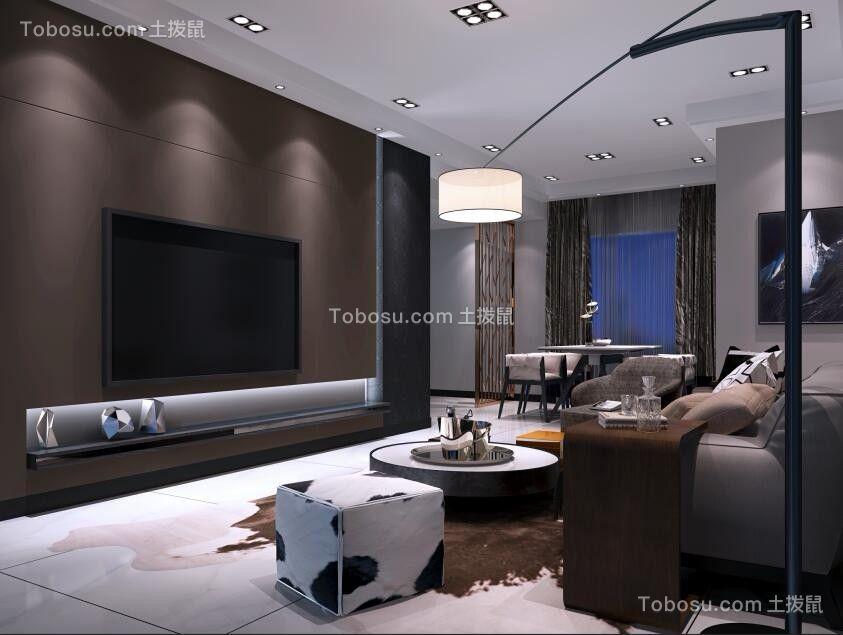 170平现代简约风格套房装修效果图