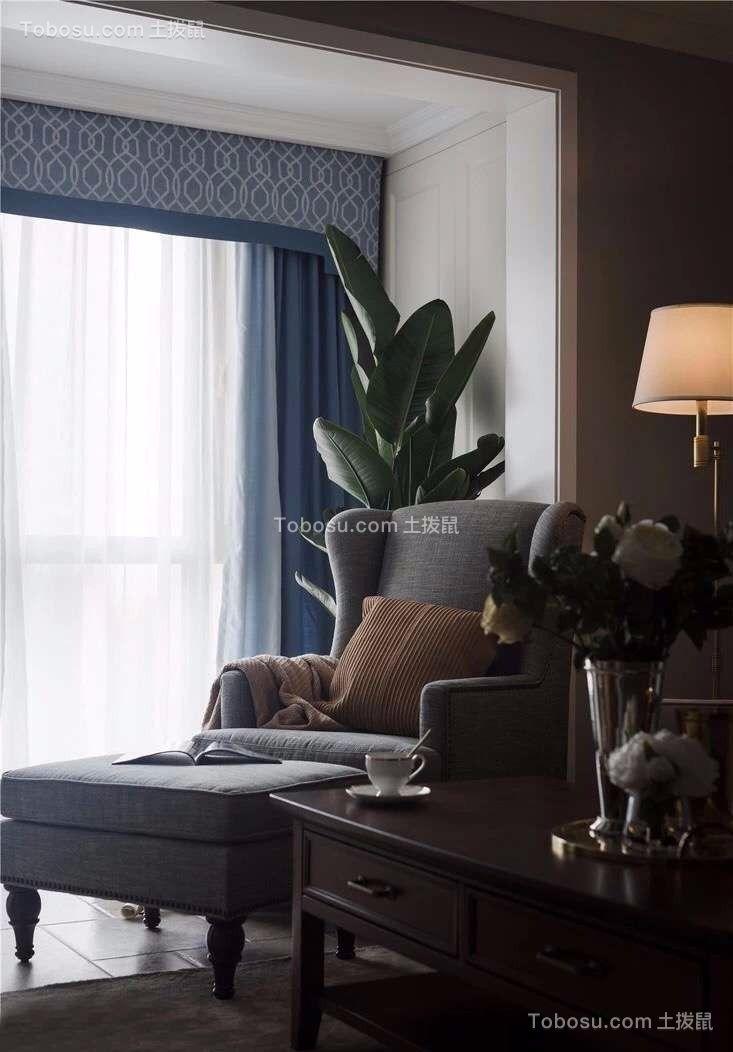 2019美式阳台装修效果图大全 2019美式窗帘装修设计